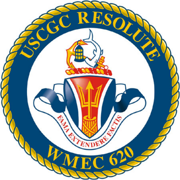 USCG Cutter Resolute Seal