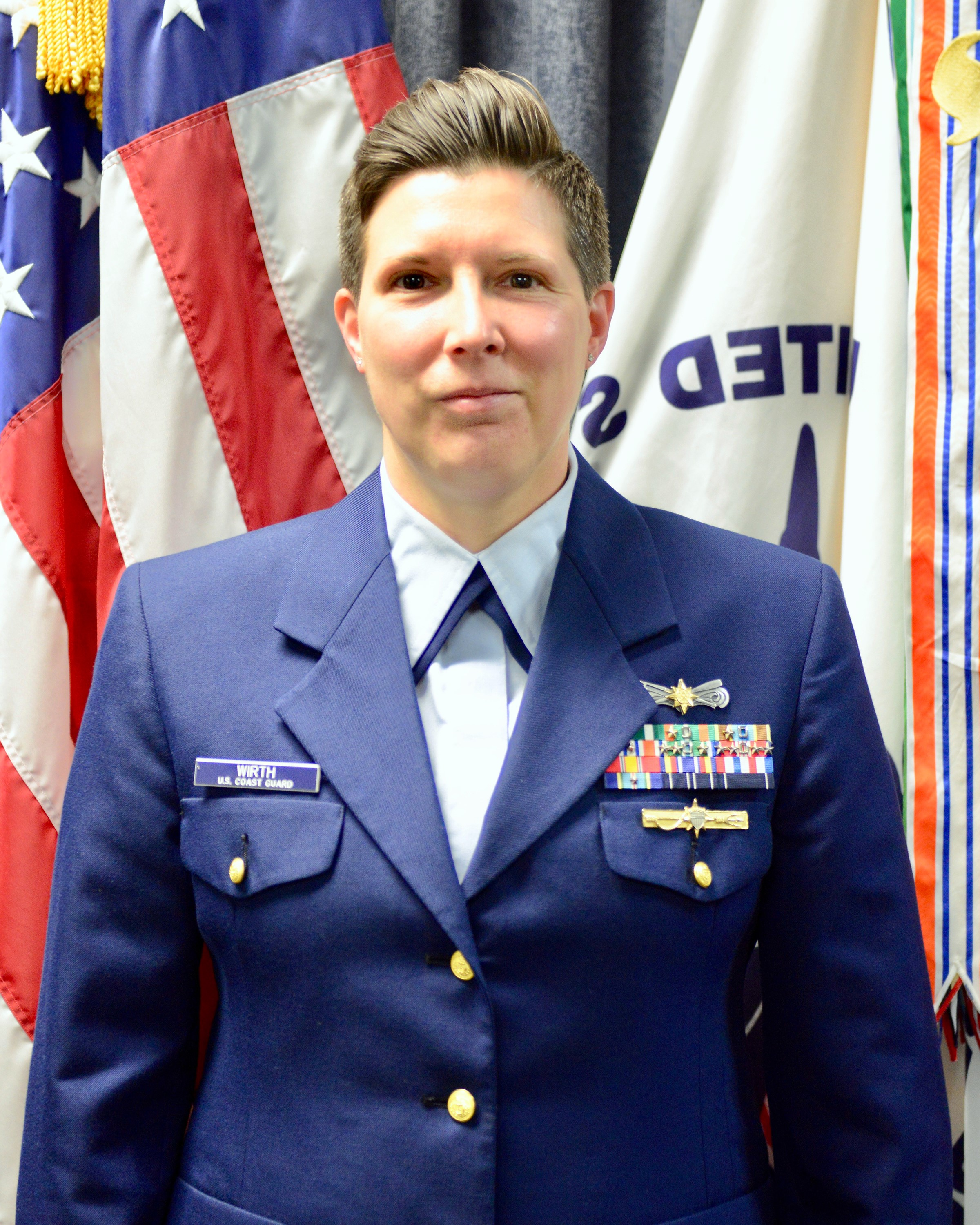 Photo of Commander Wirth