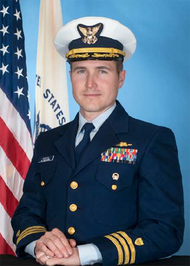 CDR Christopher Parrish