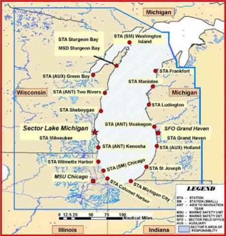 Sector Lake Michigan Units