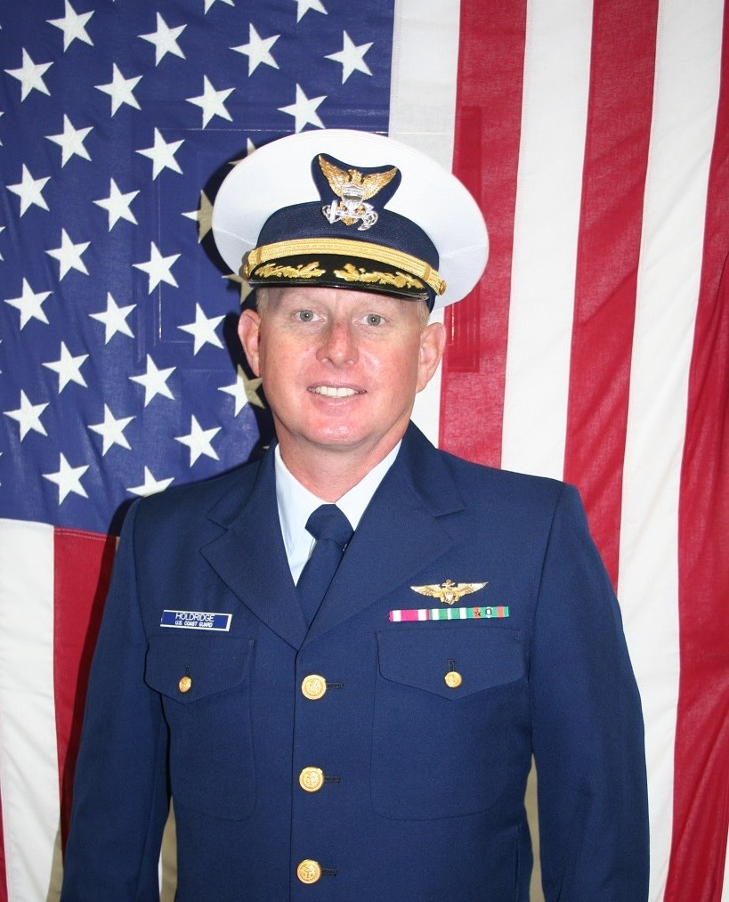 CDR Toby L. Holdridge, Executive Officer